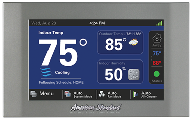 american standard smart thermostat