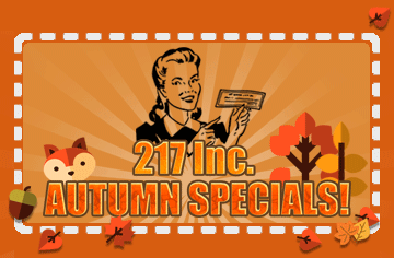 217, Inc. Hvac, Plumbing, Sewer, and drain cleaning coupons, discounts, and special offers.