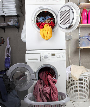Help keep your dryer running well with a dryer vent cleaning