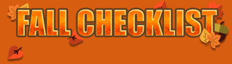 Fall heating and cooling checklist