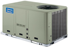 American Standard Rooftop Air Conditioning Units