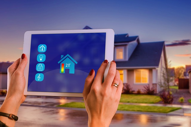 controlling your heating and cooling with a tablet