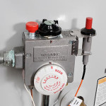 Adjust the temperature on your water heater to save energy